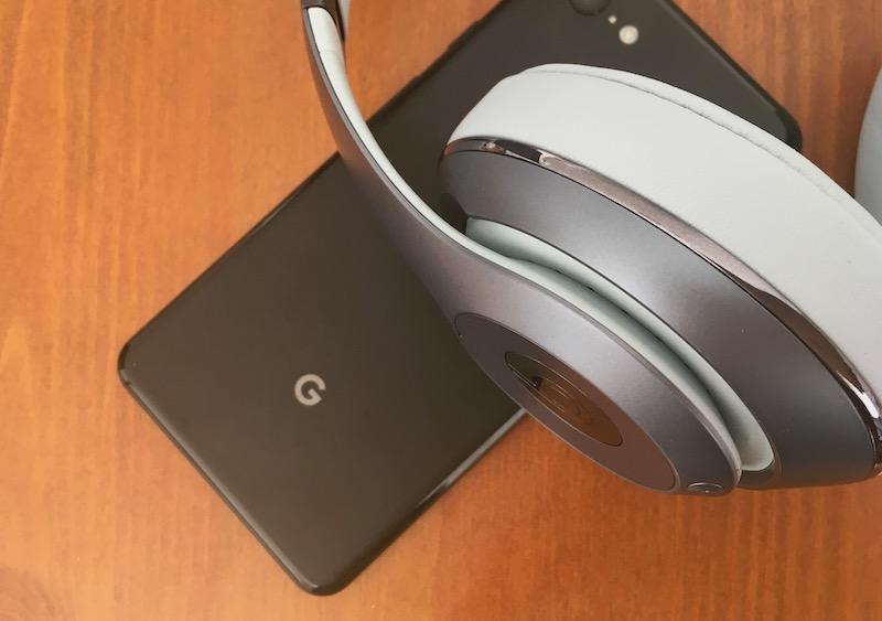 Pixel スマホ と Beats ヘッドセット