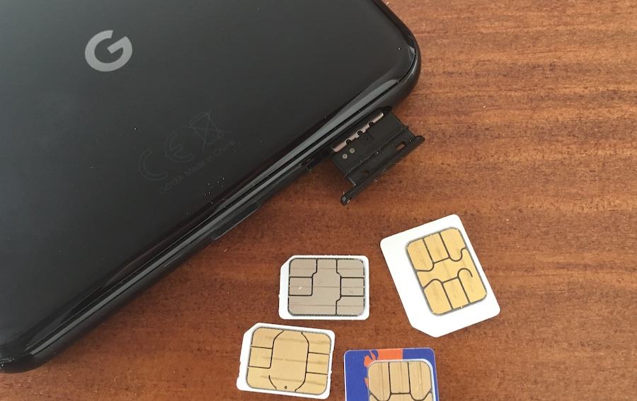 SIMカード色々